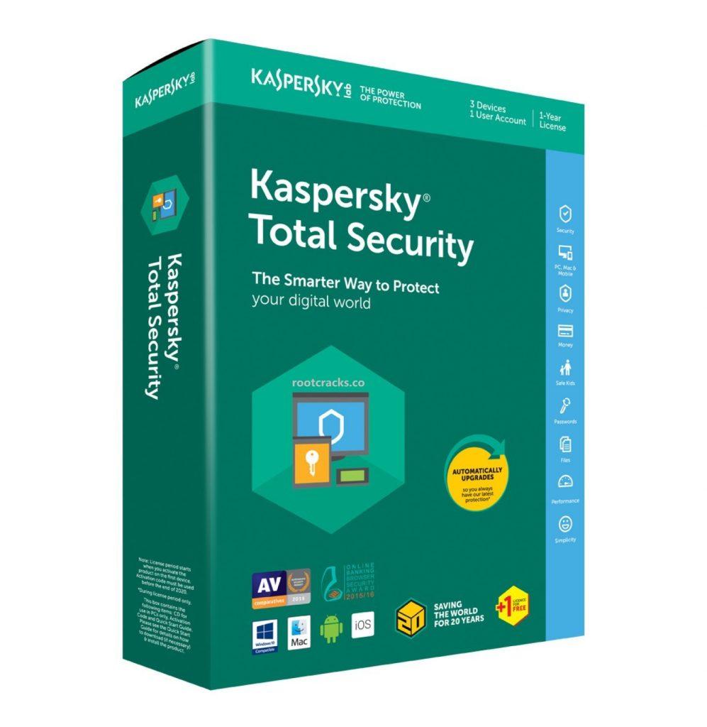 Kaspersky Total Security 2021 Crack (LifeTime) Latest